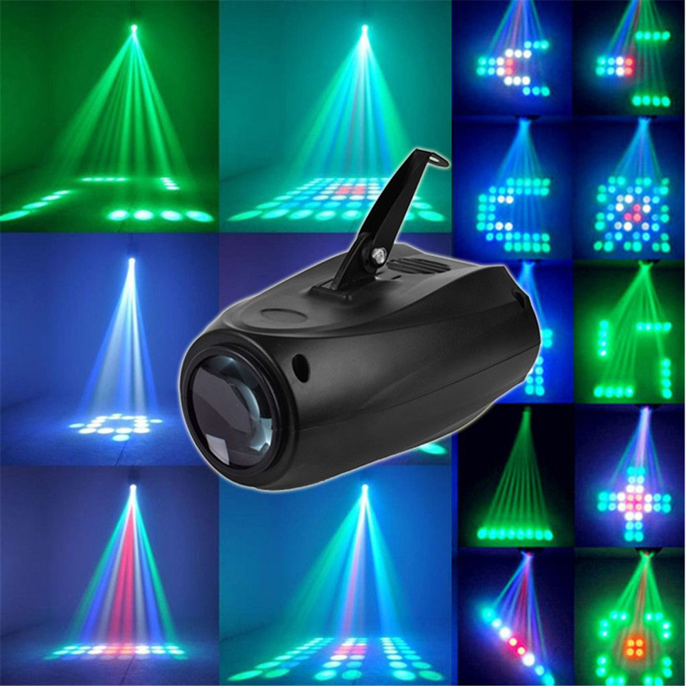 10w 64led Rgbw F5mn Stage Light Crystal Xmas Club Dj Party Disco Laser Lights Lamp Commercial Lighting From Lights Lighting On Banggood Com Disco Laser Lights Led Stage Lights Stage Lighting