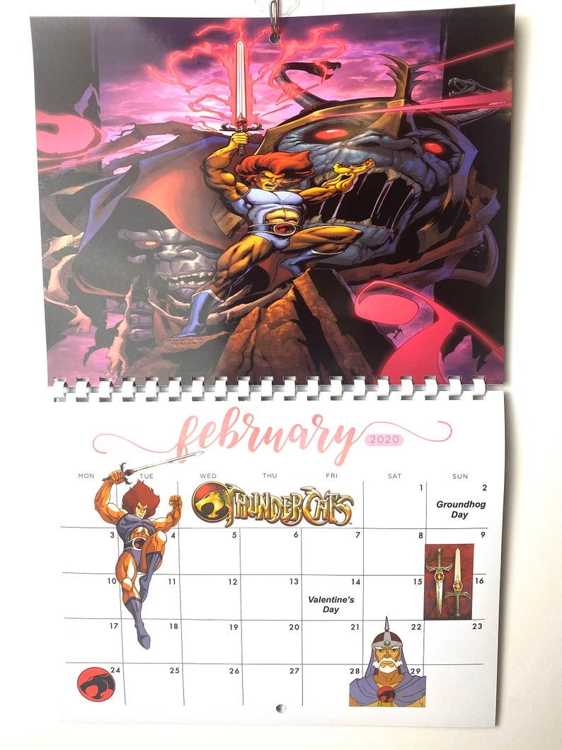 ThunderCats 2020 Calendar in 2020 Thundercats