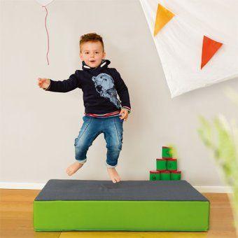 Hupfpolster Klein Trampolin Kinder Spiele Ab 2 Jahren Geschenkideen Kinder