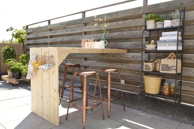 Diy Budget Loungebank : Unieke design loungebank voor in uw tuin gemaakt van douglas