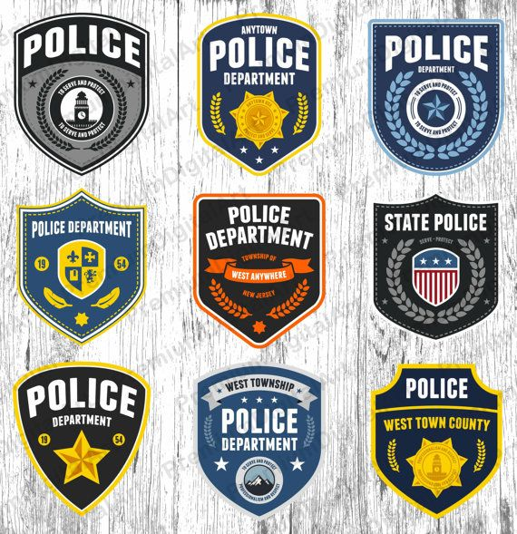 9 Police Badge Clipart Police Clipart Sheriff Badge Clipart Etsy Badge Logo Police Badge Police