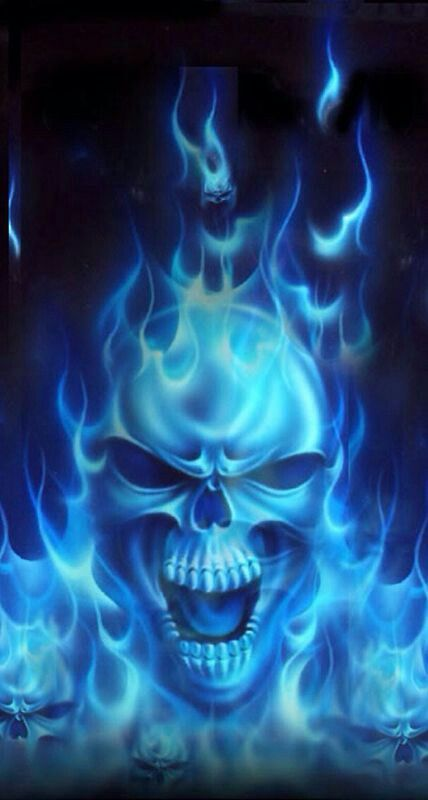Pin By Lan Rista On Skull With Images Skull Pictures Skull Wallpaper Blue Skulls