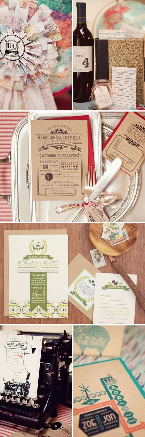 Wedding invitations from uplusudesign.com
