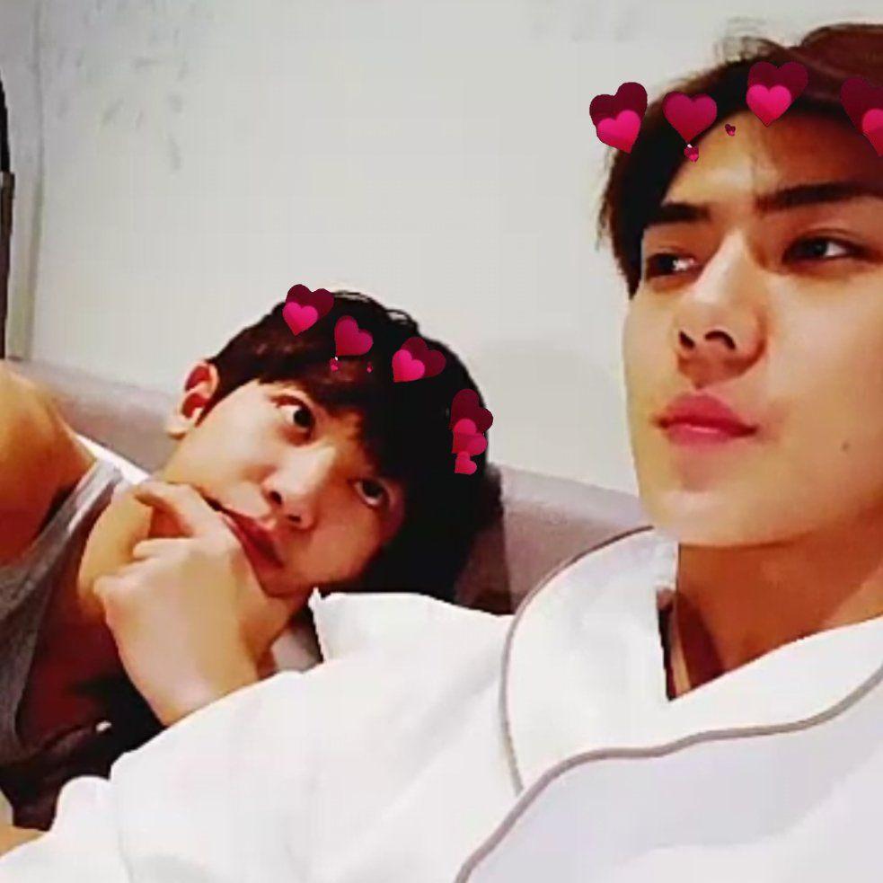 Chanhun Sehun X Chanyeol In 2019 Exo Chanyeol Sehun