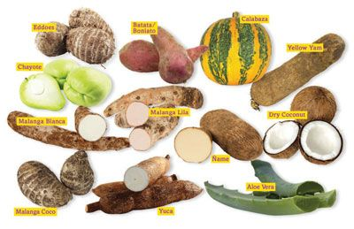 South American fruits and vegetables are unmistakably at ...