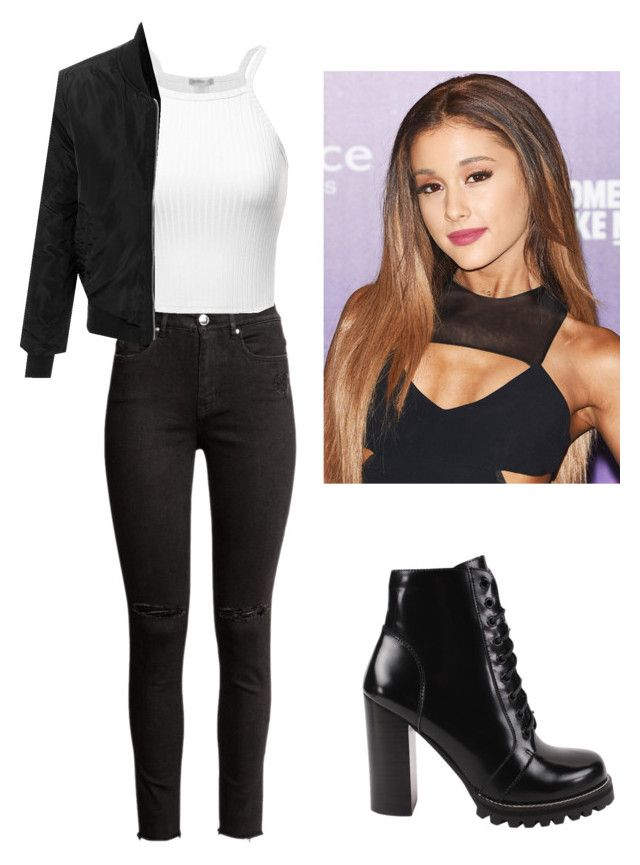 """""""Girl Meets Hart's Mom #3"""" by bella-014 ❤ liked on Polyvore featuring LE3NO and Jeffrey Campbell"""