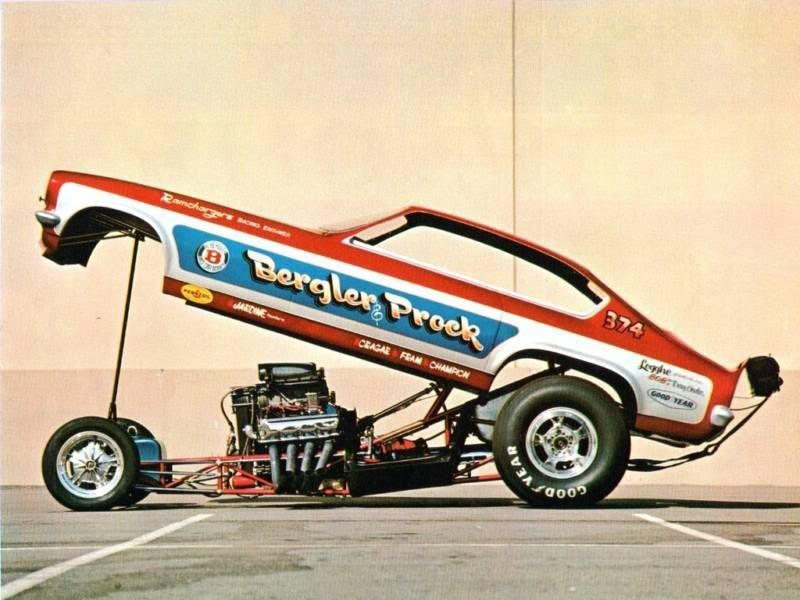 Bergler & Prock Vega Funny Car | Driver/Collectors | Pinterest ...