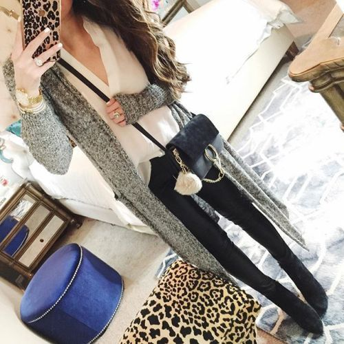 long knit cardigan selfie outfit- The most popular instagram outfits ... 01b3267d377