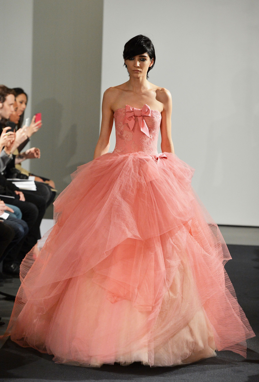 Vistoso Vestido De Novia Usado De Vera Wang Imágenes - Colección del ...
