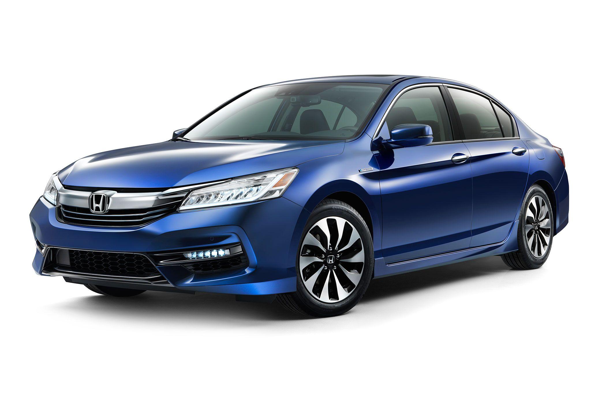 2017 Honda Accord Hybrid Gets More Power, Improved