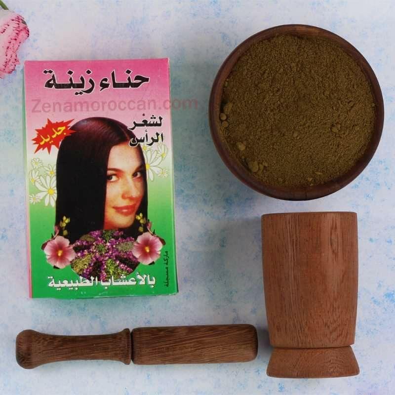 حناء زينة للشعر بالاعشاب الطبيعية Natural Cosmetics Black Soap Oils
