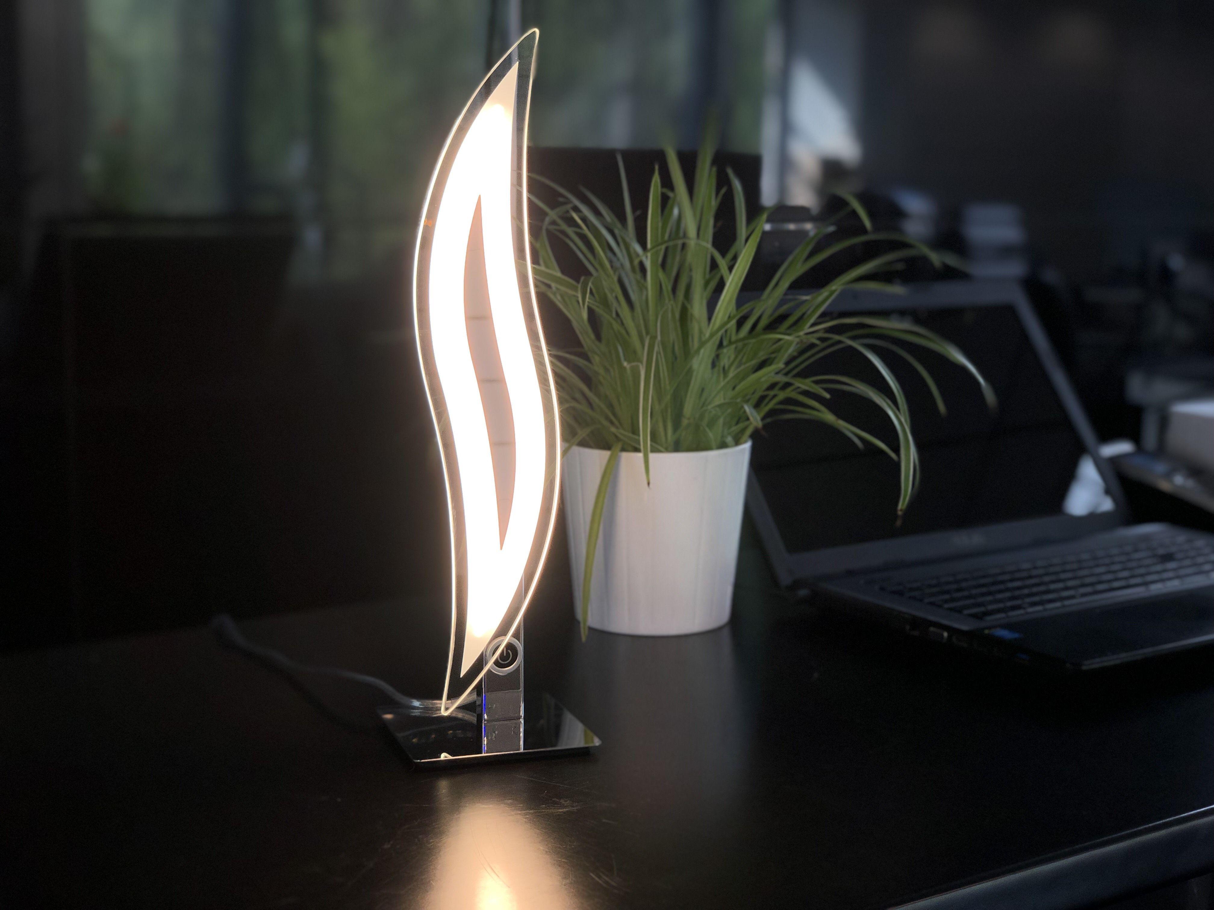 Lampe Flama 2019Lampes À Chrome Design En Led Poser Kosilum BWQrodCexE