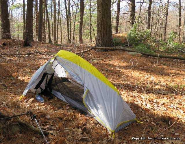 LL Bean Microlight UL 1-Person Backpacking Tent - //sectionhiker. & LL Bean Microlight UL 1-Person Backpacking Tent - http ...