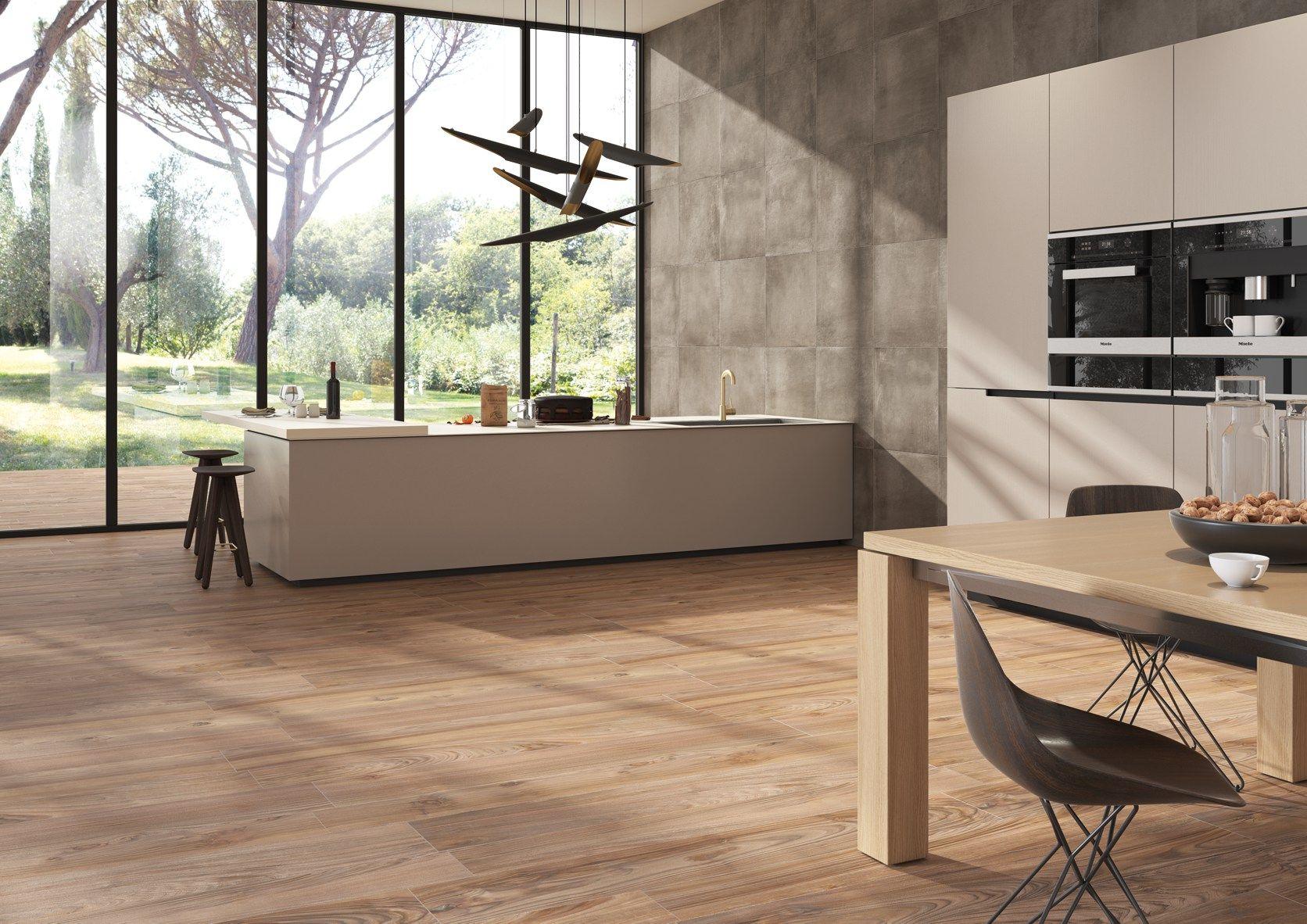 Cucine Moderne Bianche Effetto Legno.Gres Effetto Legno Cucina Top Piastrelle Cucina Idee E Soluzioni In