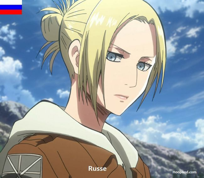 Annie Leonhardt Nationality - Russia #SNK