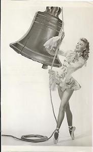 VERA-ELLEN original VINTAGE ballet Liberty Bell MGM photo toe shoes