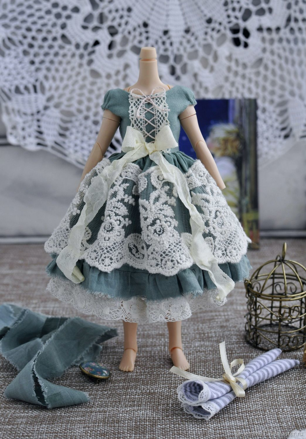 Photo of Dress for Blythe dolls, clothes for dolls. Blyth …