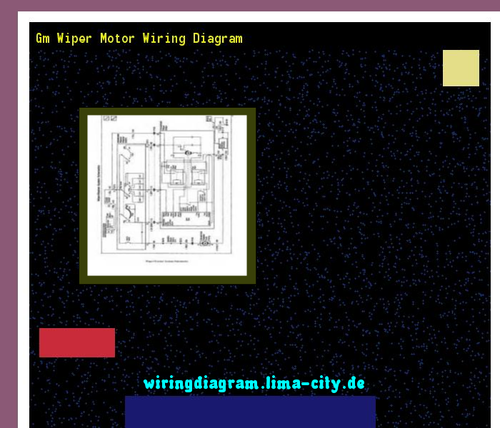 Gm wiper motor wiring diagram. Wiring Diagram 174639. - Amazing ...