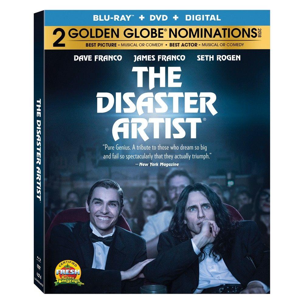 The Disaster Artist (Bluray + DVD + Digital) James