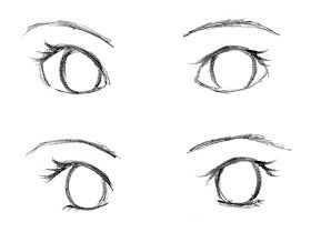 Johnnybro S How To Draw Manga Drawing Manga Eyes Part Ii Eye Drawing Drawings Anime Drawings