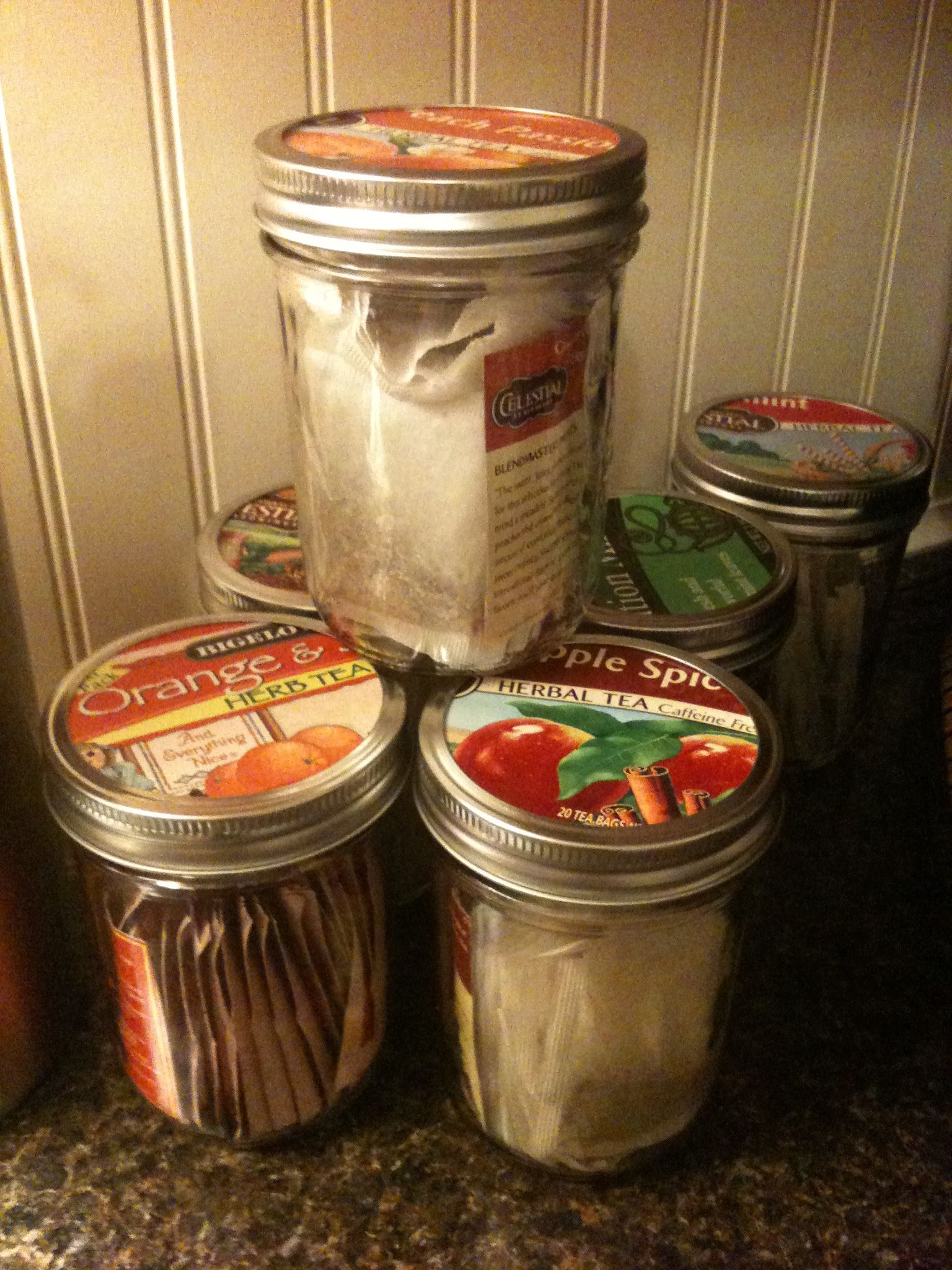 Tea Storage Idea I Need To Do This And Get Rid Of All