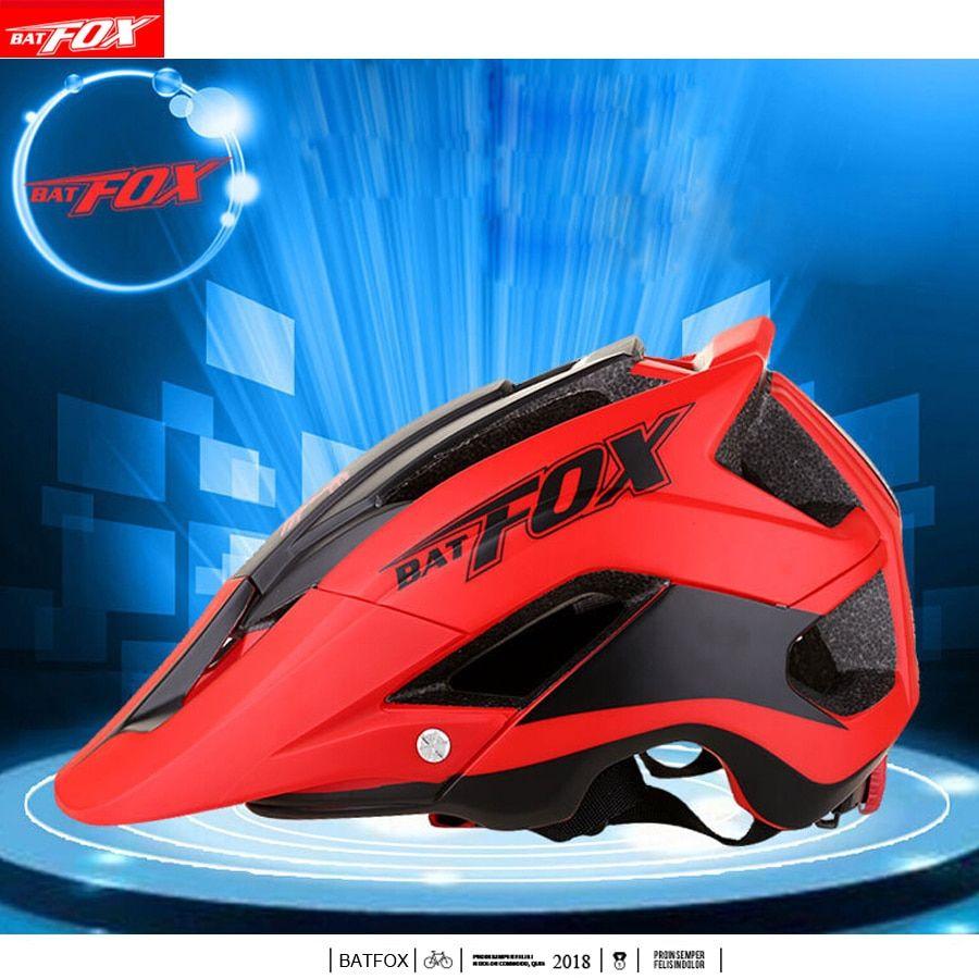 Batfox Cycling Helmet Men Women Bike Helmet Mountain Road Mtb