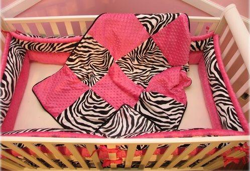 zebra printed quilt