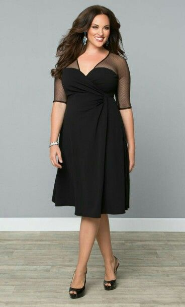 This Dress Looks Awesome The Wrap And Vneck Is Super Flattering