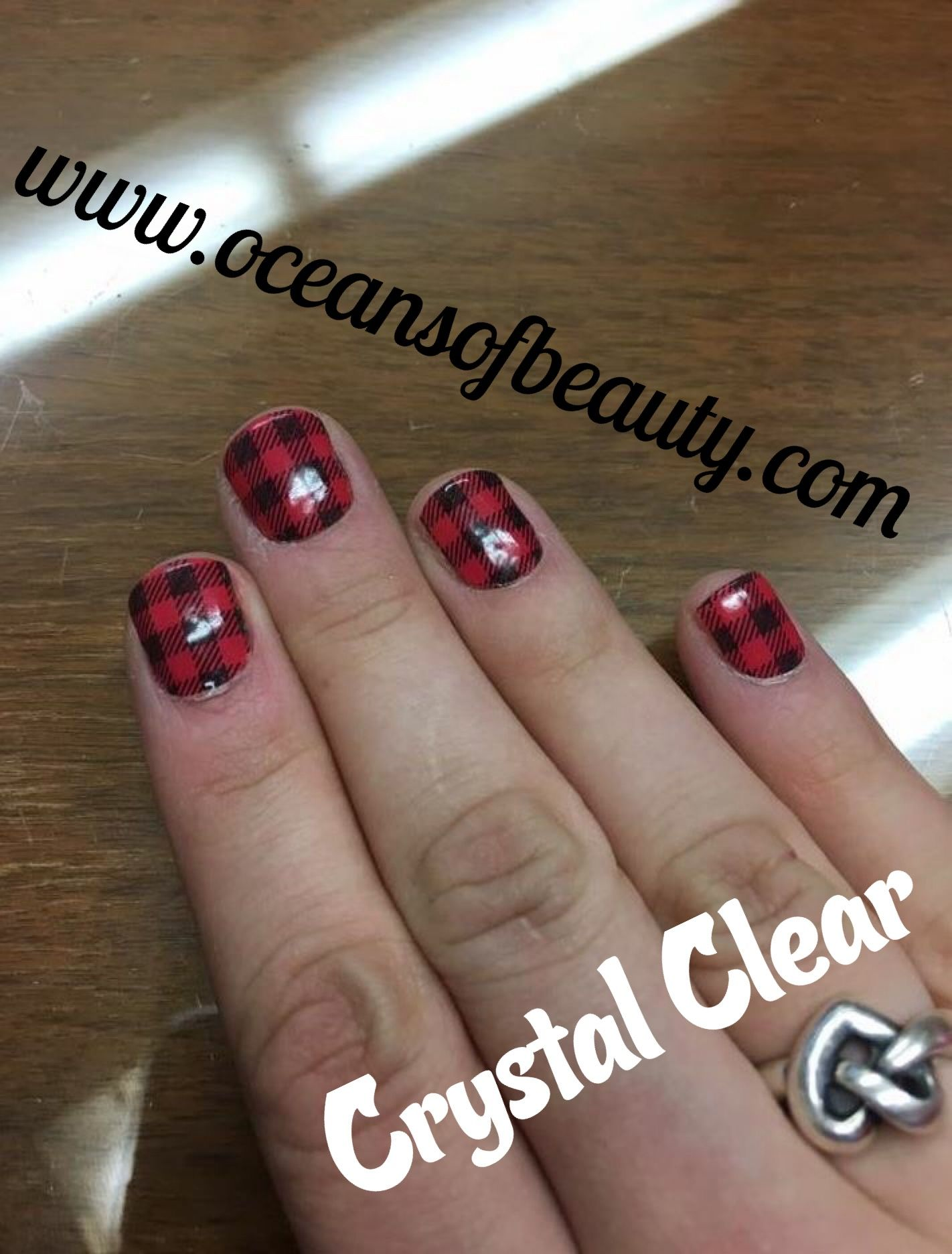 Crystal Clear on Jamberry Nails! EZdip Gel Powder. DIY EZ Dip. No ...