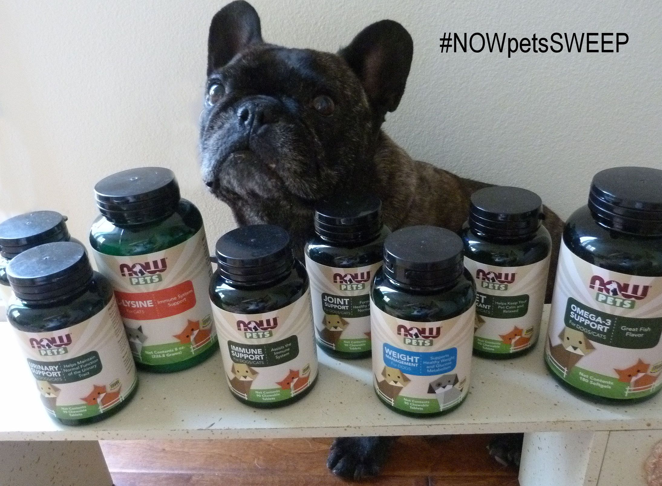NOWpetsSweeps Pet supplements, Pets