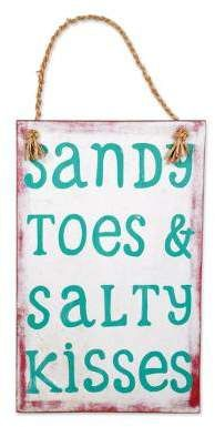 Photo of 25 Beach Signs and Sayings Wood Plaques