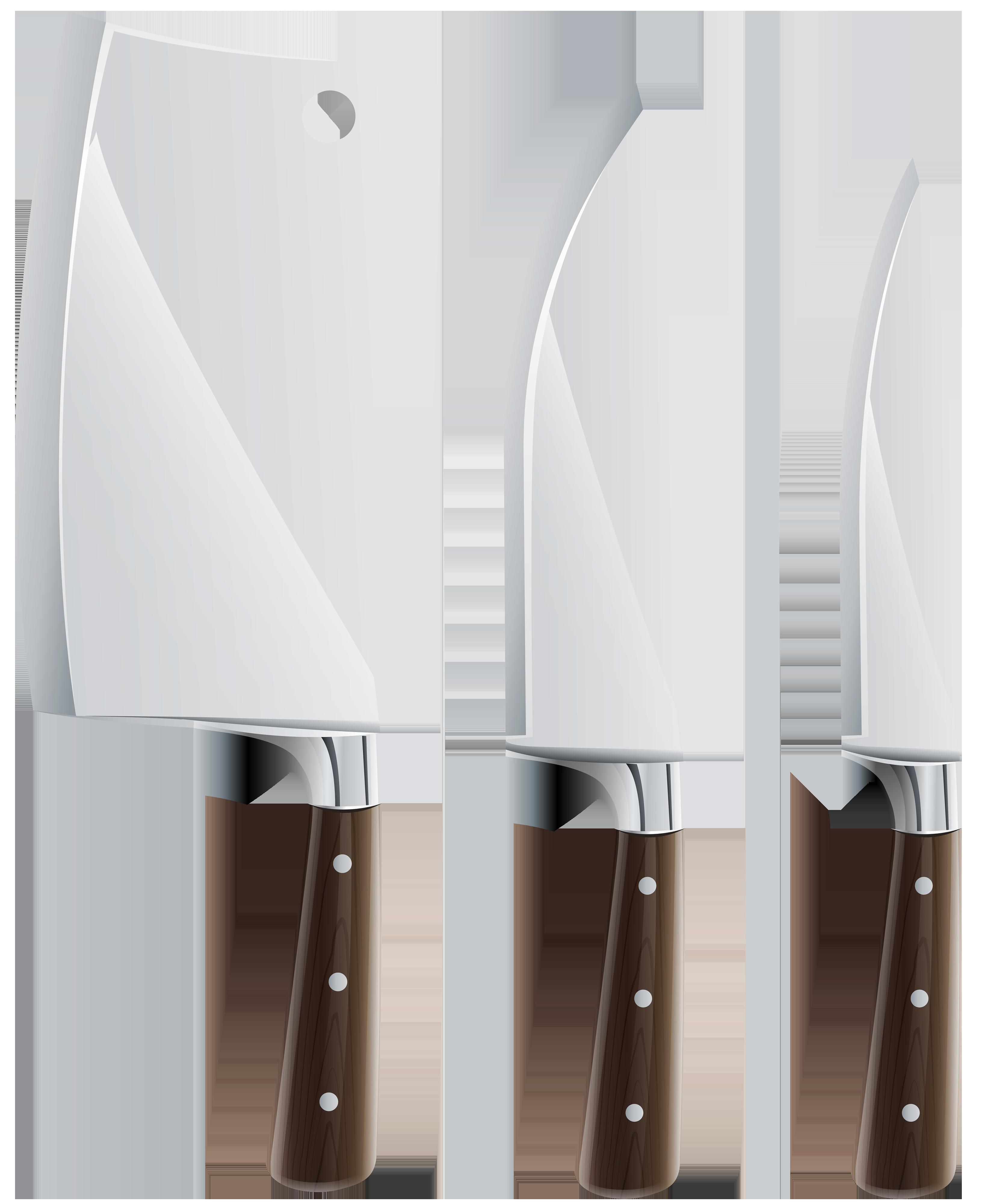 Kitchen Knife Set Png Clipart Kuhnya