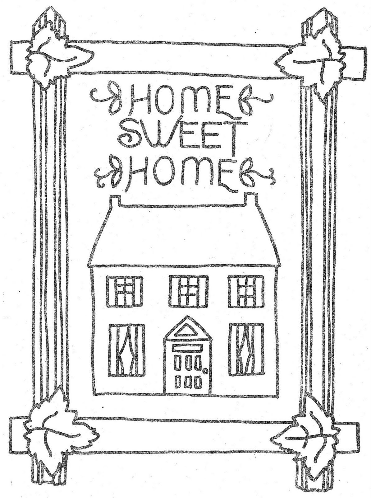 Coloring Page Coloring Pages Home Decor Coloring Pages