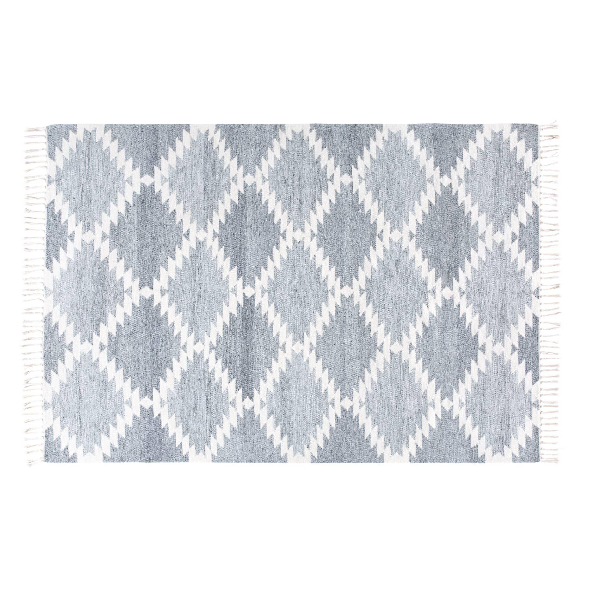 Woven Rug With Graphic Motifs 160x230 Gewobener Teppich Teppich Gemusterte Teppiche