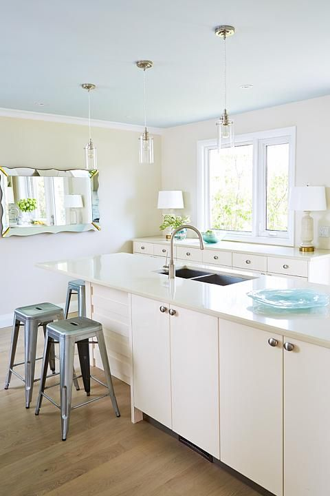 Globe and Mail Real Potential Cream Turquoise Green Kitchen | neat ...