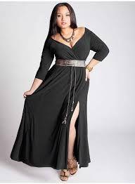 Vestidos largos para mujeres con mucho busto