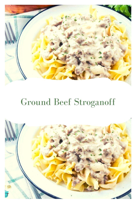 Ground Beef Stroganoff In 2020 Crockpot Recipes Beef Beef Stroganoff Beef Stroganoff Easy
