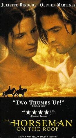The Horseman On The Roof 1995 Romantic Movies Period Drama Movies 1995 Movies