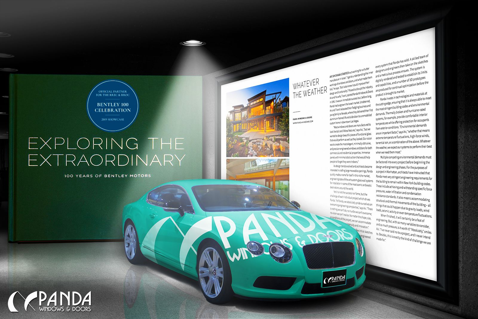 Panda Has Been Honored To Be Featured In The Bentley