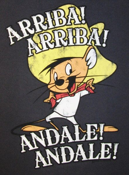 speedy gonzales andale herren t shirt anthrazit. Black Bedroom Furniture Sets. Home Design Ideas