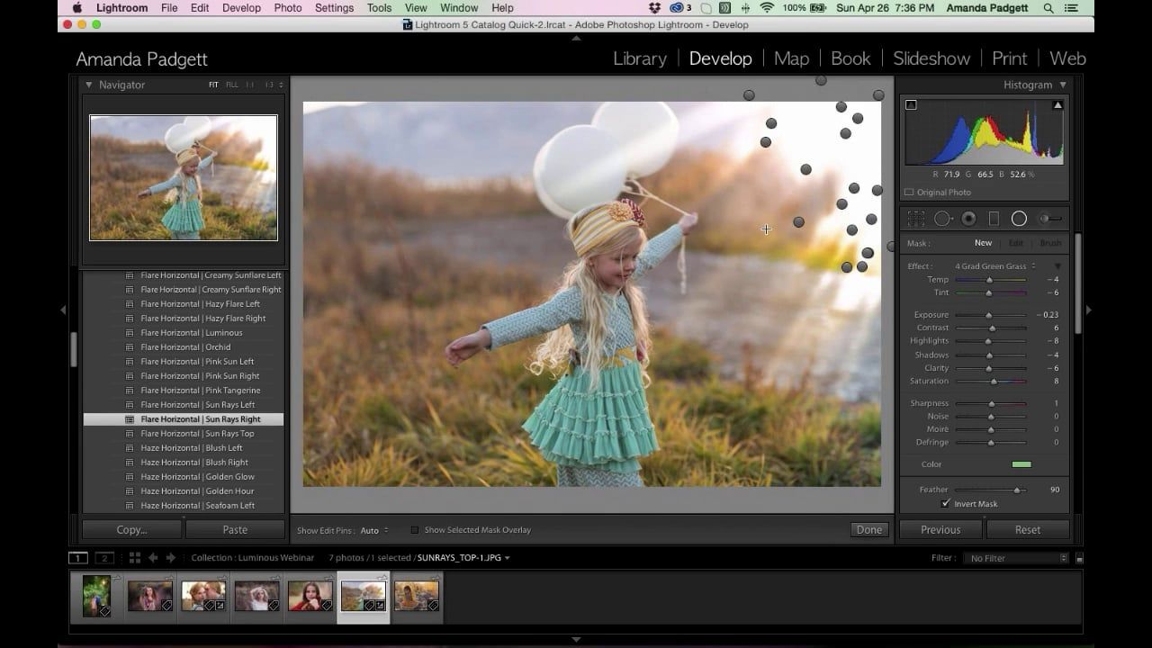 Updates To Lightroom 6 Adding Bokeh Sun Flare And Haze To Your Images Lightroom Lightroom Training Photoshop Photography