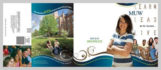 college brochure design 19 GD Pinterest – College Brochure