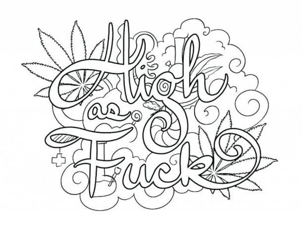 malvorlagen free printable swear word  drawings