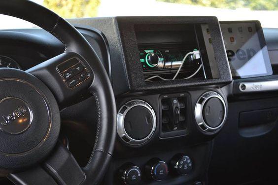 Jeep Ipad Mount Ipad Jeep Dash Mount Ipad Mini Dash Mount
