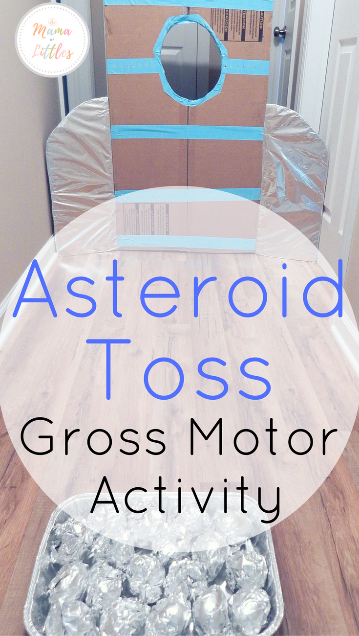 3 Space Themed Asteroid Activities For Toddlers Space