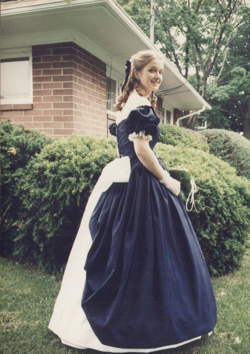 Elegant Civil War Ball Gowns | Found on hoop-skirts-and-corsets ...