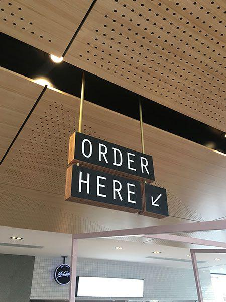 Mcdonald S Glen Waverley Wayfinding Signage Signage Design Environmental Graphics Signage
