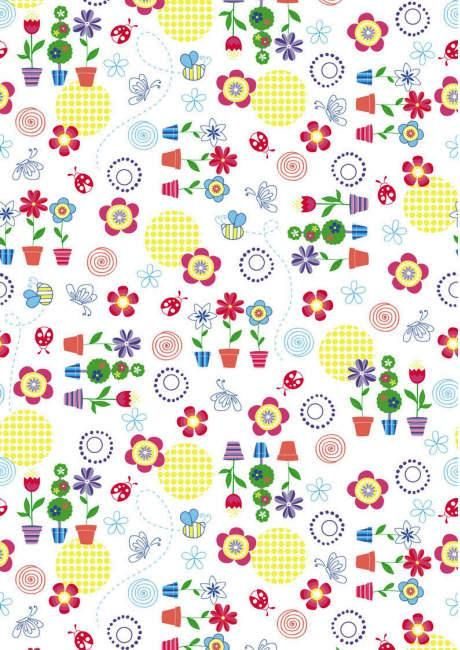 Designs Floral Pretty Scrapbook Printable Paper Picturesboss