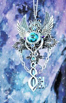 Photo of Beautiful Celtic Skeleton Key Commission by ArtByStarlaMoore on DeviantArt
