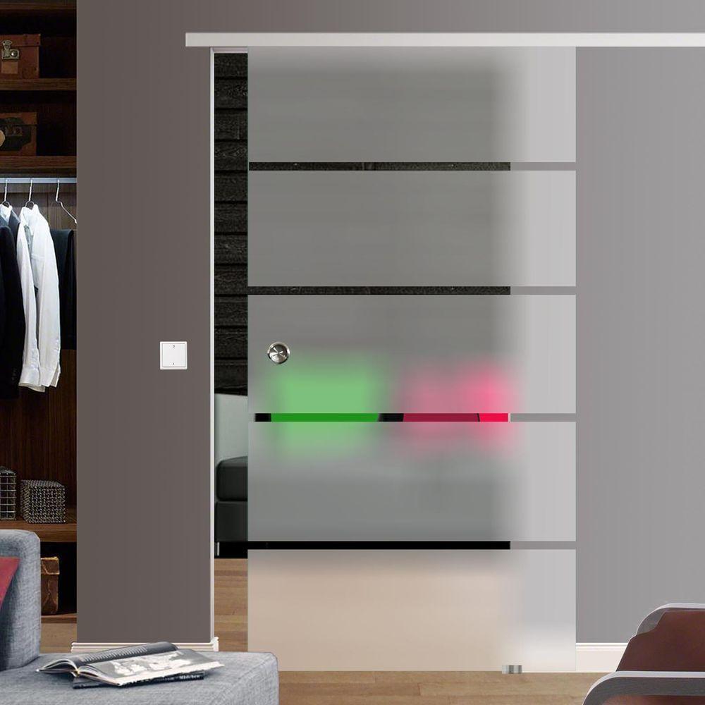 Soft Close SlimLine Selbsteinzug Glasschiebetr Glas Schiebe Tr BP1ASE  Heimwerker Fenster